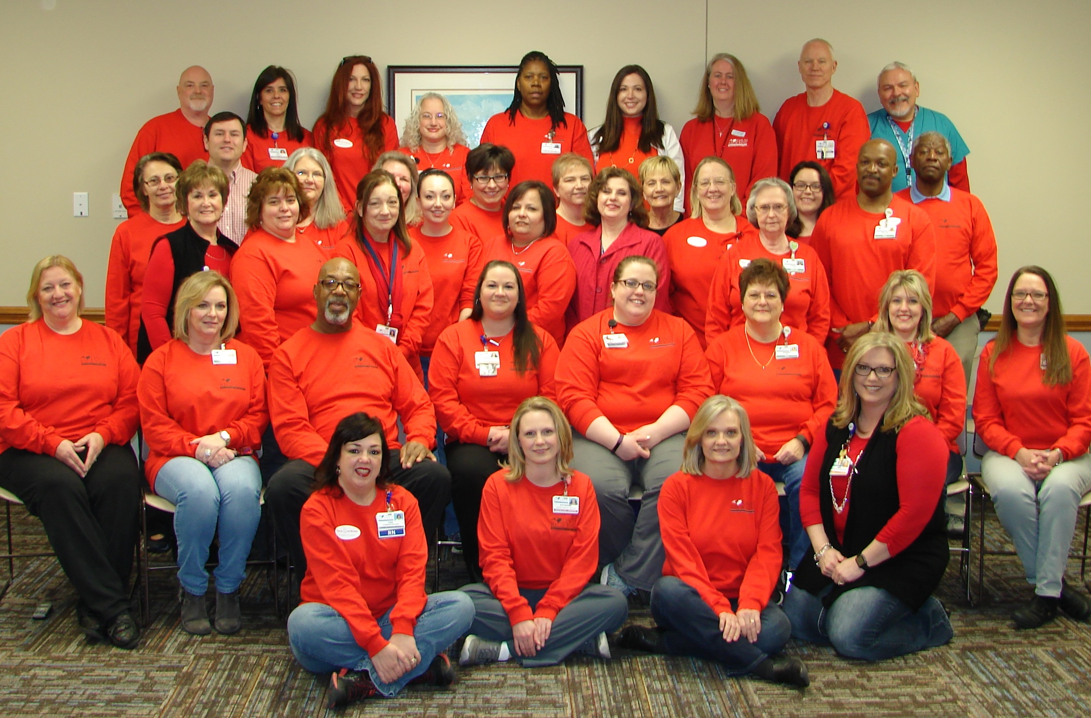 Davis Regional Goes Red For Women Raising Awareness And Helping