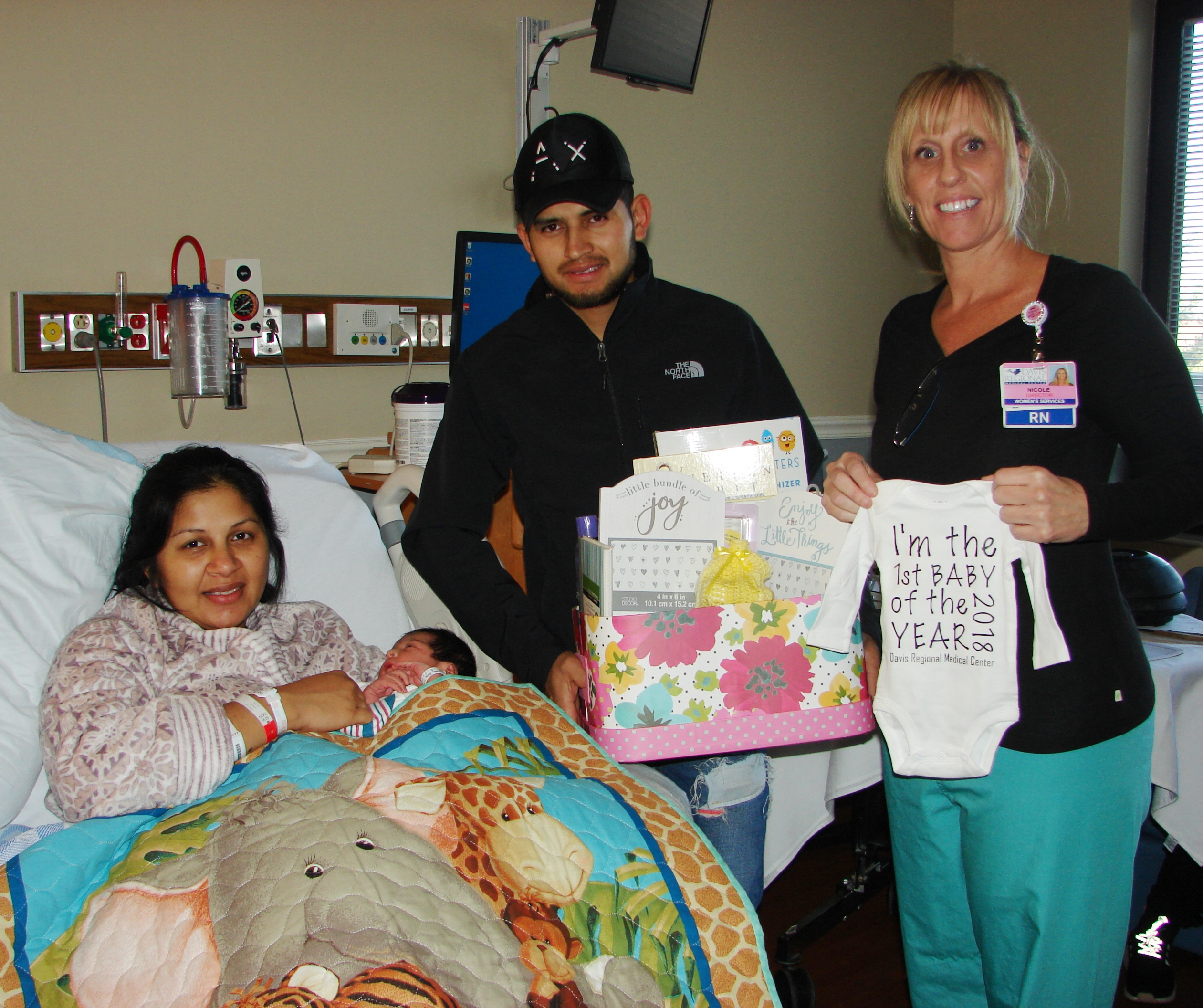 Davis Regional Welcomes New Year S Baby Newsroom
